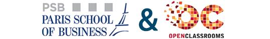 PSB en partenariat avec OpenClassrooms
